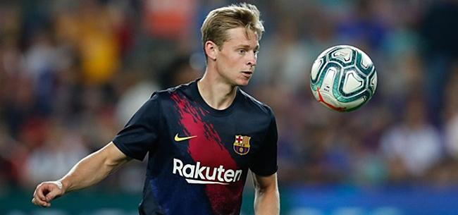Foto: 'Barcelona heeft belangrijk nieuws voor Frenkie de Jong'