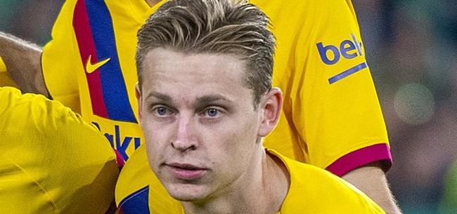 Foto: 'Frenkie wil Oranje-collega naar FC Barcelona halen'