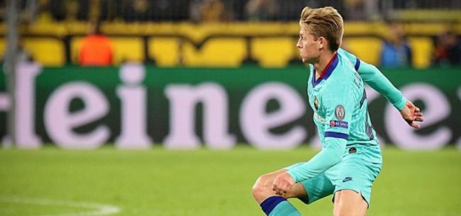 Foto: De Jong: 'Het is net alsof Messi je instructies geeft'