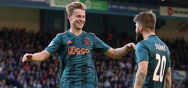 Foto: 'Ajax moet signaal afgeven naar andere Eredivisie-clubs'