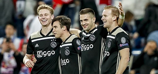 Foto: 'Gijp' richt zich tot Ajax-spelers: