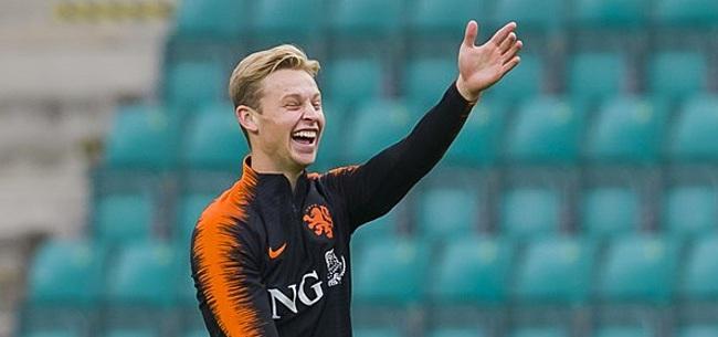 Foto: 'Barcelona verbijsterd door Oranje-prestaties Frenkie de Jong'