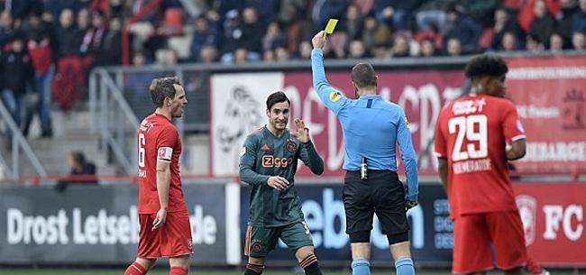Foto: Ajax 'laconiek en nonchalant': 'Dat het alsnog gebeurt, is slecht eigenlijk'