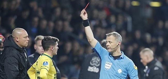 Foto: Rode kaart en gemiste strafschop worden Fortuna fataal in Almelo