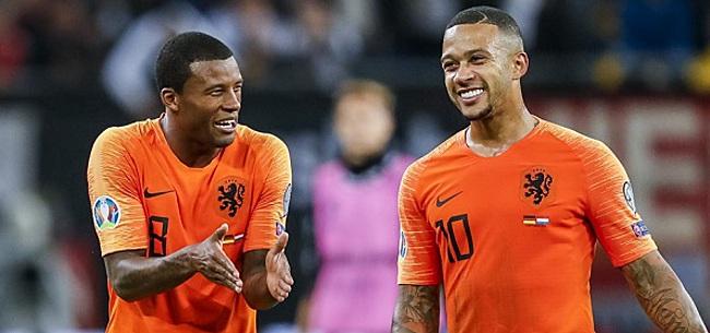 Foto: Wijnaldum eerlijk over Oranje: