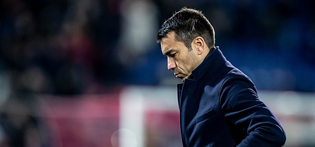 Foto: Van Bronckhorst verrast door vertrek Van Geel bij Feyenoord