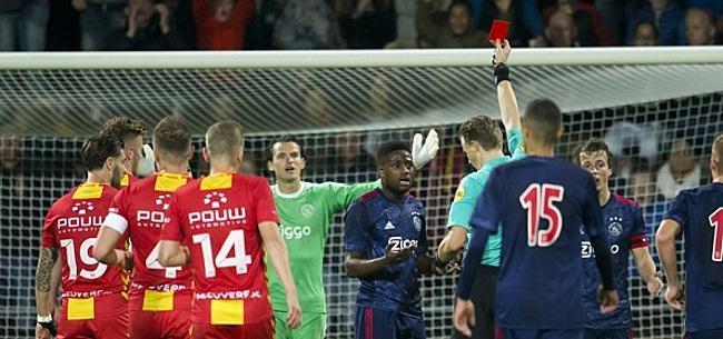 Foto: Jong Ajax hard onderuit in Deventer, ook NEC wint