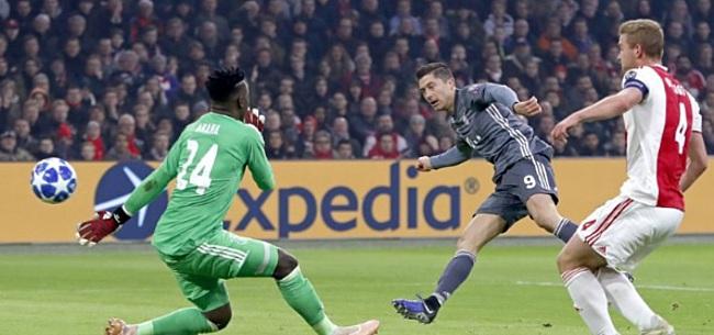 Foto: VIDEO: Groepswinst plots mijlenver weg voor Ajax, Lewandowski schiet hard raak