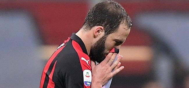 Foto: Uitgerekend Higuaín schiet AC Milan naar winstpartij op SPAL