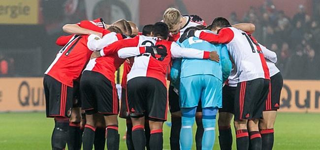 Foto: 'Feyenoorder pijnlijk gepasseerd tegen Vitesse'