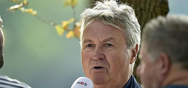 Foto: Hiddink mengt zich in Eredivisie-discussie: 'Dat is niet aan de orde'