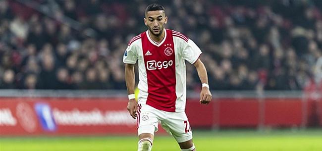 Foto: 'Ajax verkoopt Hakim Ziyech voor 45 miljoen euro'