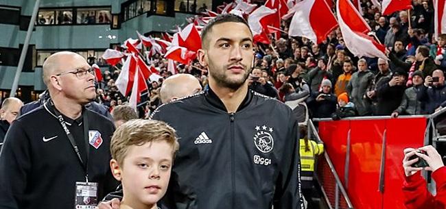 Foto: 'Ziyech krijgt fabuleus Ajax-transfernieuws bij Chelsea'