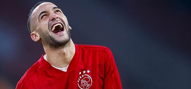 Foto: 'Hakim Ziyech maakt interesse voor nieuwe club kenbaar'