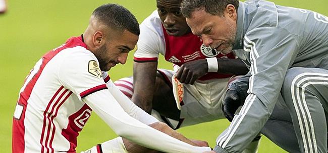 Foto: Ten Hag haalt uit naar analist na opmerking over blessure Ziyech