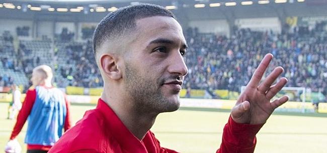 Foto: 'Ziyech was vlak voor Ajax bijna rond met buitenlandse club'