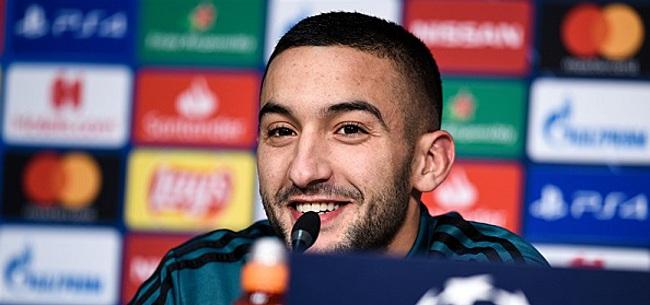 Foto: 'Ajax neemt standpunt in over Ziyech-transfer'