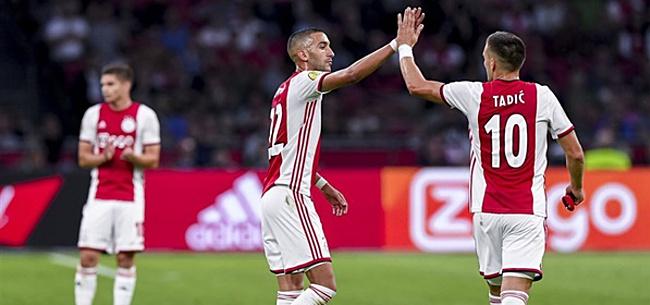 Foto: 'Ajax-selectie kent vier absolute grootverdieners'