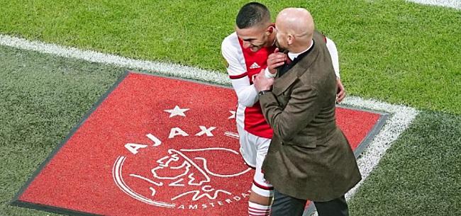Foto: Ajax maakt diepe indruk: 'Bizar, echt niet normaal'