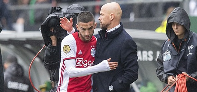 Foto: 'Droomclub kan Ziyech vergeten door schrappen clausule'