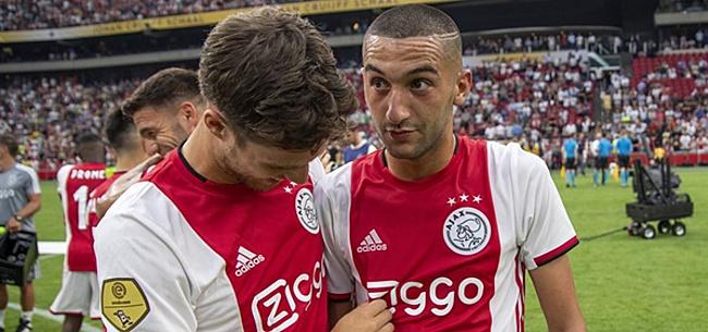 Foto: Pérez: 'Ik vrees voor Ziyech dat die clubs niet gaan komen'