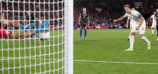 Foto: Engeland wint doelpuntenspektakel, Ronaldo maakt er vier