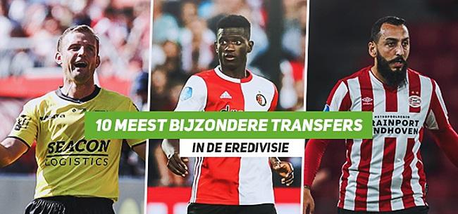 Foto: De 10 meest bijzondere zomertransfers in de Eredivisie