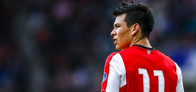 Foto: Mexicanen: Lozano kostte PSV bizar bedrag