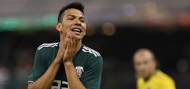 Foto: Last-minute afhaker bij Mexico: maatje Lozano alsnog naar het WK