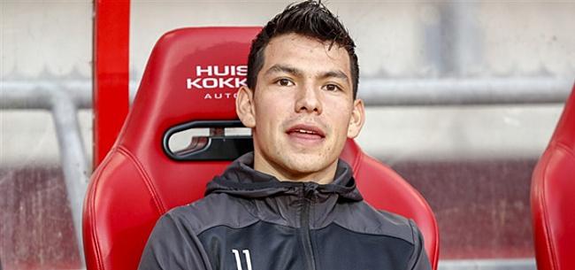 Foto: Opstelling PSV: Lozano weer op de bank, Van Bommel kiest voor debutant