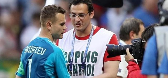 Foto: Beelden lijken uit te wijzen: 'Russen snoven 'doping' op WK'