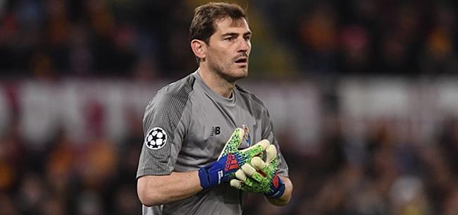 Foto: Exact twee maanden na hartaanval meldt Casillas zich weer bij FC Porto