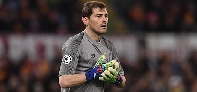 Foto: Casillas tegen Van der Sar: