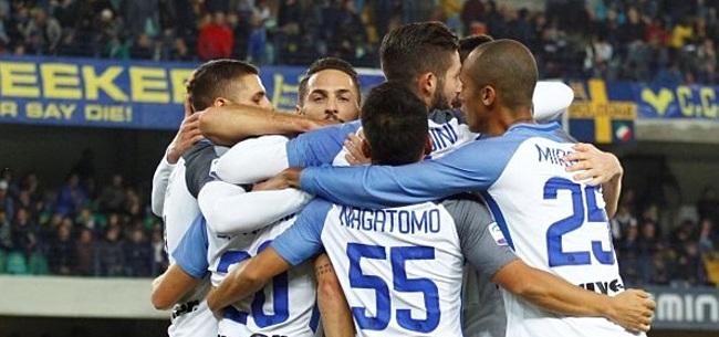 Foto: Inter wint uitduel en blijft in spoor van Napoli