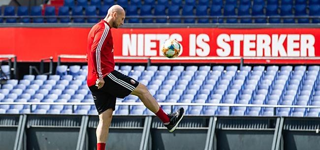 Foto: 'Stam neemt pijnlijke beslissing bij Feyenoord'
