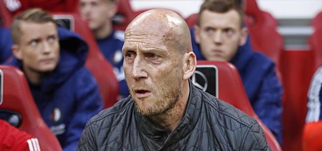 Foto: Stam: 'Vanwege omstandigheden is dat bij Feyenoord niet gelukt'