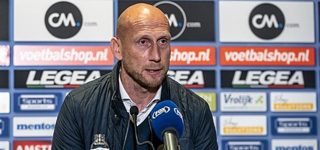 Foto: 'Stam krijgt dubbel slecht nieuws van Feyenoord-smaakmakers'