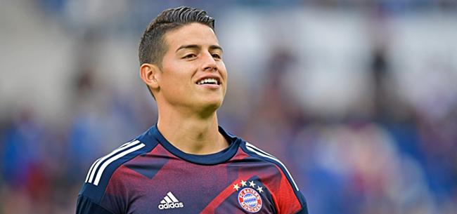 Foto: 'Ongelukkige James wil alweer vertrekken bij Bayern'