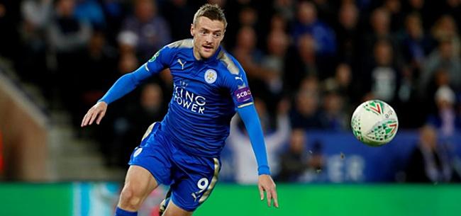 Foto: Leicester City maakt fans wild met Vardy-nieuws