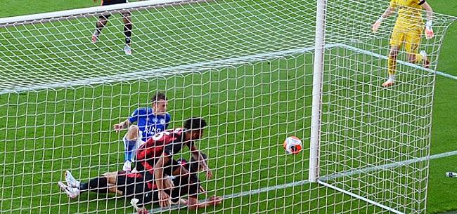 Foto: Twee bizarre minuten komen Leicester duur te staan