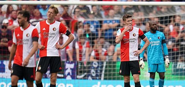 Foto: 'Transferdrama voor Feyenoorder Van der Heijden'