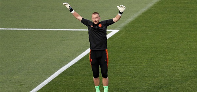 Foto: Cillessen lyrisch over Ajax: 'Dat is weergaloos'