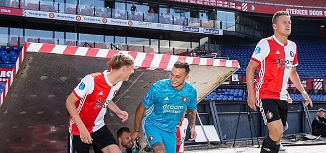 Foto: Stam bejubelt Feyenoorder: