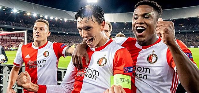 Foto: Feyenoorders gaan los op één man: 'Hij gaat het verzieken'