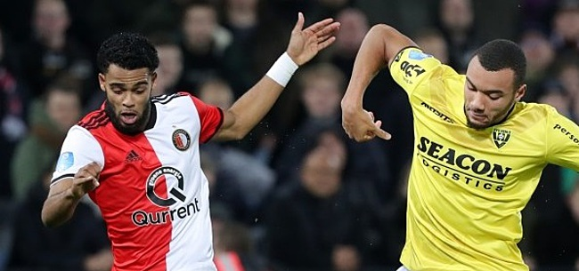 Foto: Feyenoord verkleint achterstand dankzij 'inhaalzege' op VVV
