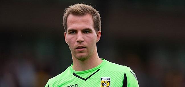 Foto: Huurovereenkomst Houwen en Telstar ontbonden: keeper keert terug bij Vitesse
