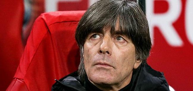 Foto: Löw trots na late zege Duitsland: