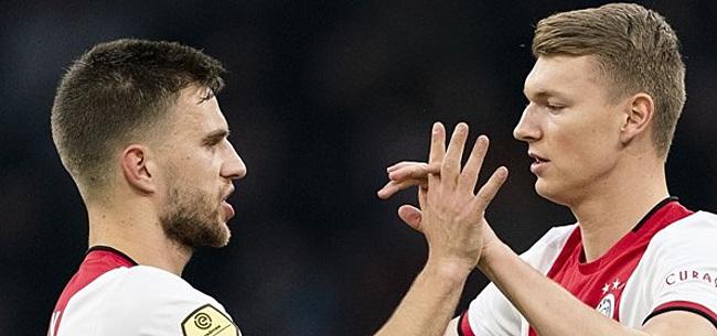 Foto: 'Schuurs had tegen Vitesse last van blessure'