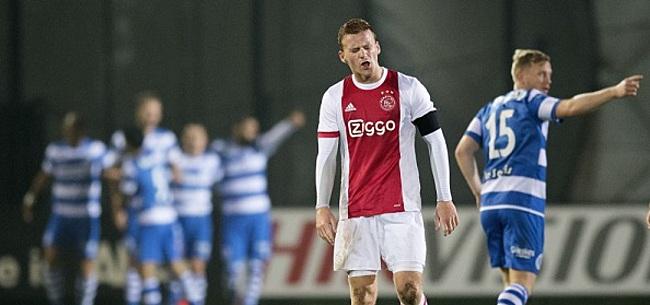 Foto: Afstraffing voor Jong Ajax, NEC nieuwe koploper