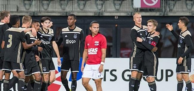 Foto: Ajax-talent ziet doorbraak somber in: 'En anders...'